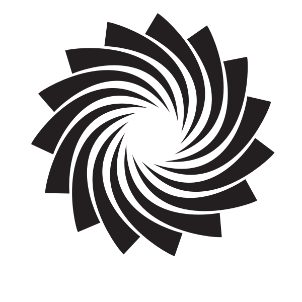 Swirl logo design element