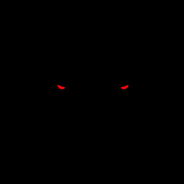 Dog head silhouette-1580219563