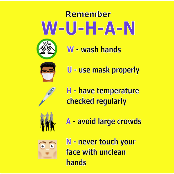 Remember WUHAN poster
