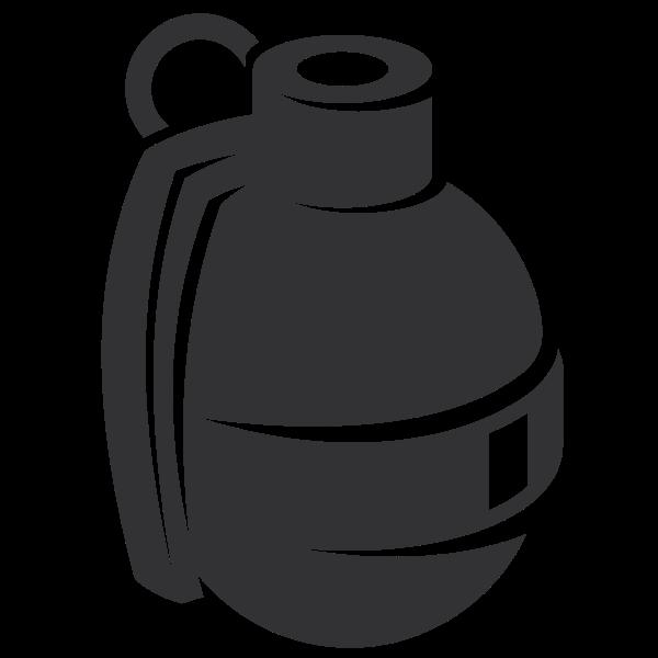 Grenade silhouette