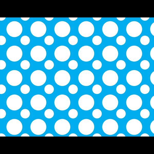 Big dots blue background