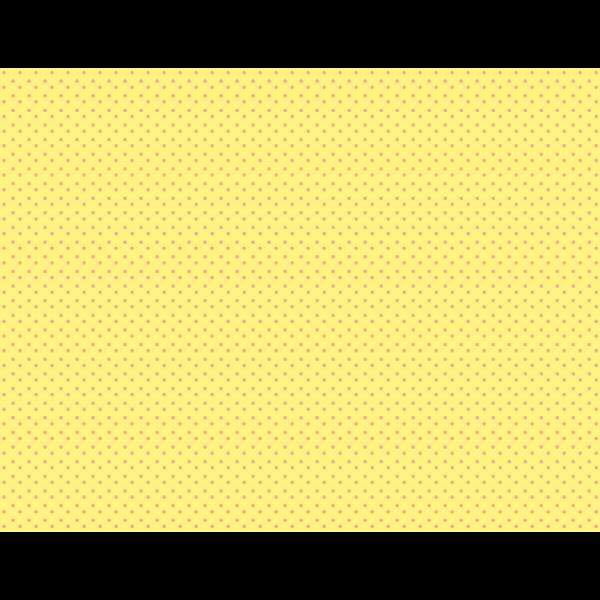 Yellow background polka dots