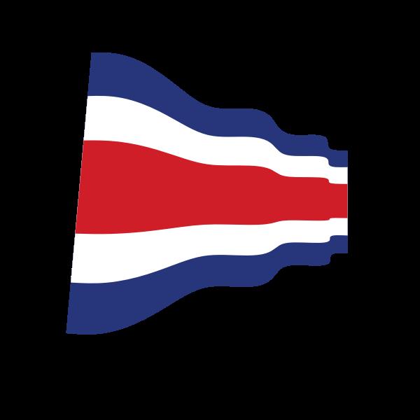 Waving Thai flag