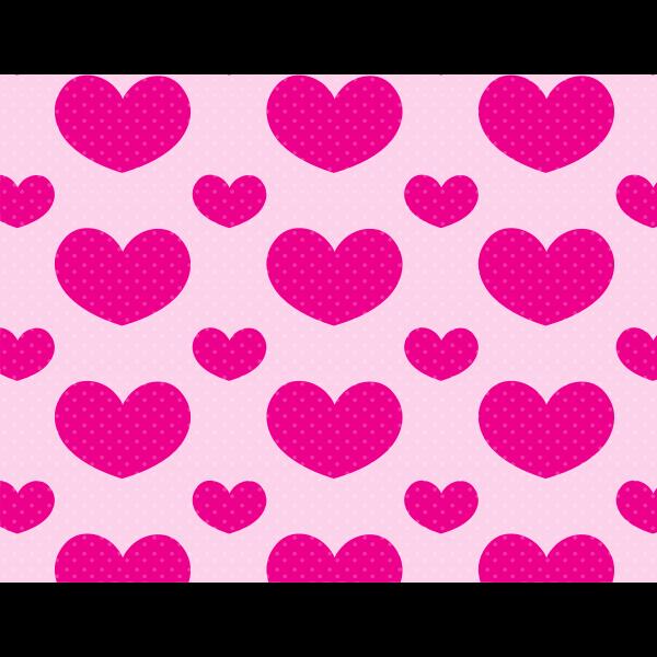 Download Polka dots love pattern   Free SVG