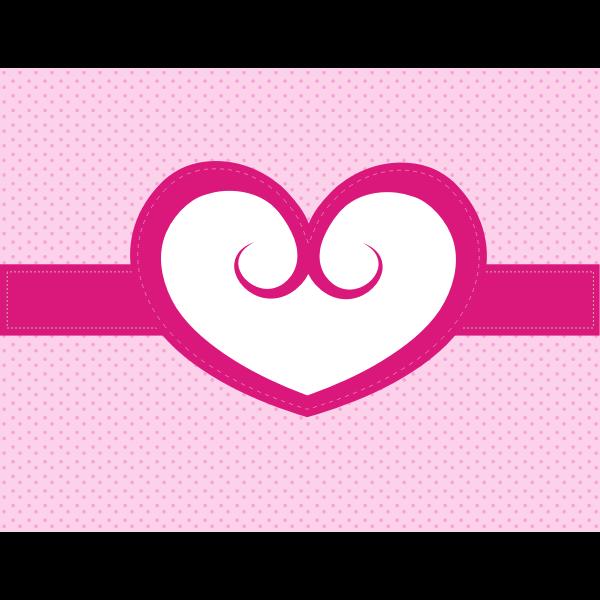 Heart Valentine background