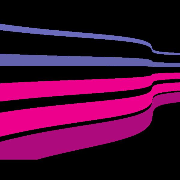 Waving stripes