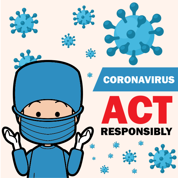 Coronavirus Act Responsibly