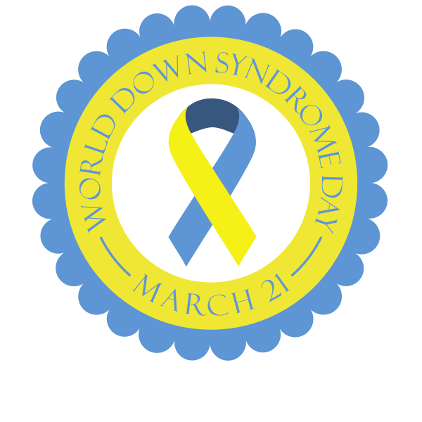 Down Syndrome Day Badge