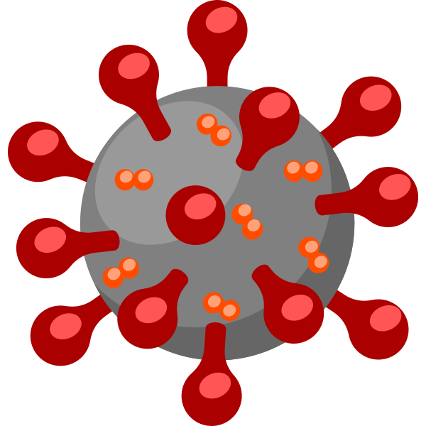 Sars-cov-2 coronavirus cartoon