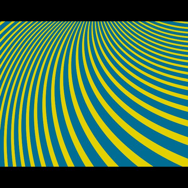 Curved stripes pattern