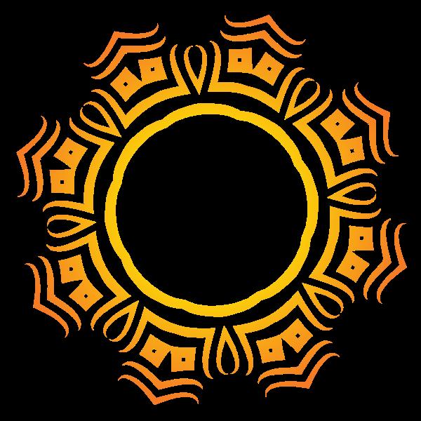Tribal decorative design element