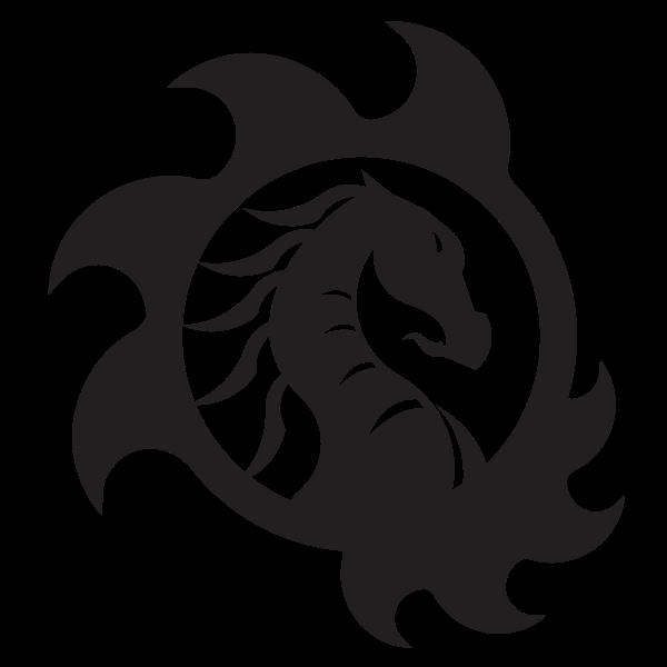 Dragon monster silhouette-1587462990