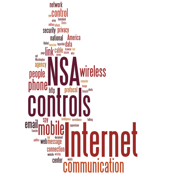 NSA controls the Internet message