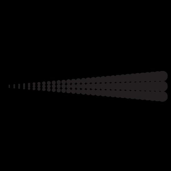 Halftone dots graphic element