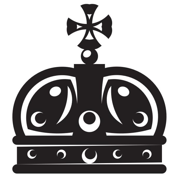 Royal crown silhouette-1589816743