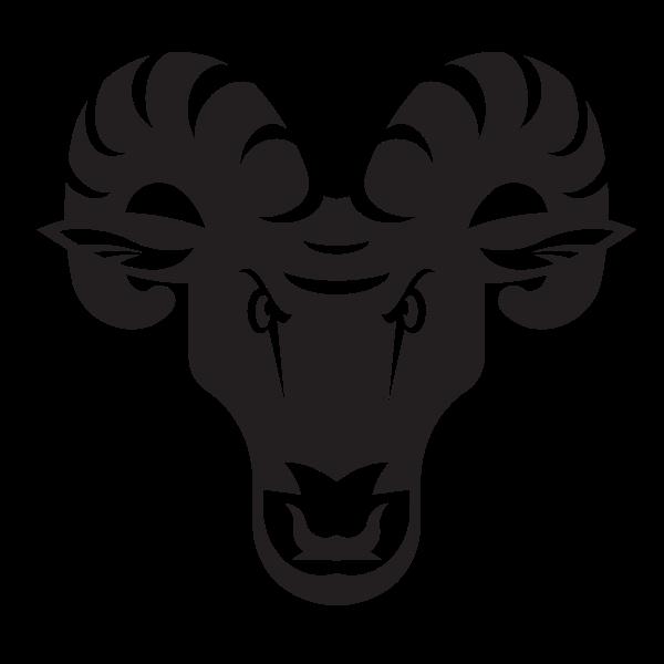 Goat head silhouette