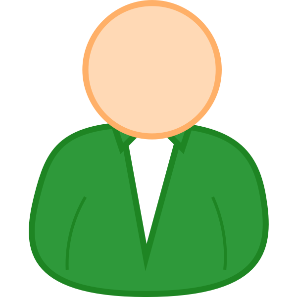 User 2 avatar vector image