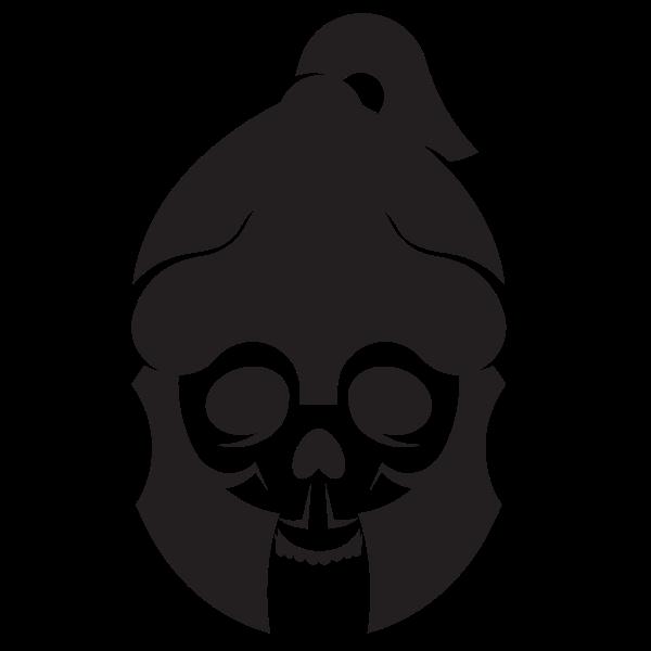 Skull with Roman helmet