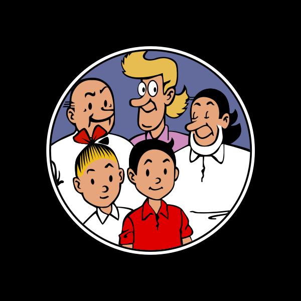Suske en Wiske familie Finn och Fiffi familjen