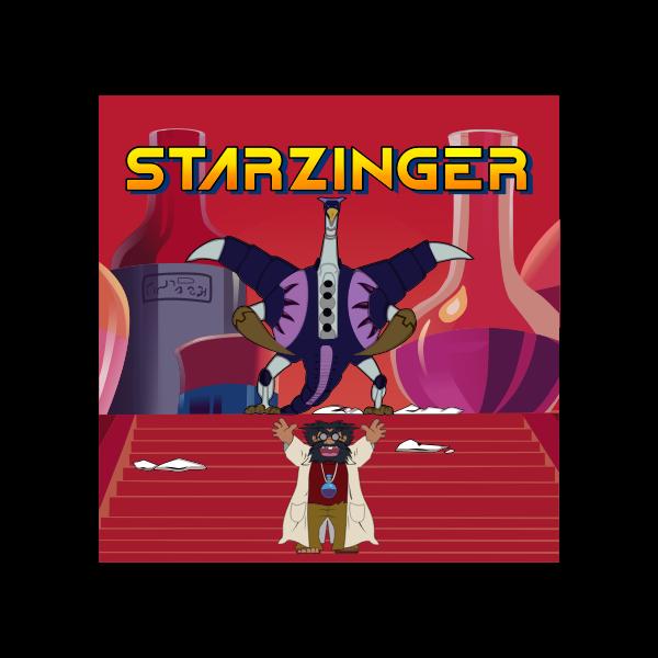 Starzinger - Doctor Mudd and the devil bird version 2 of 4