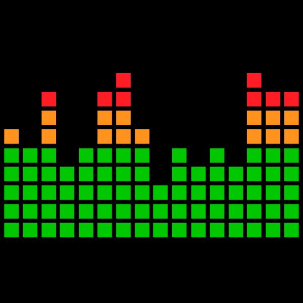 16 channel LED meter
