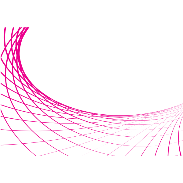 Pink Lines Abstract Graphics