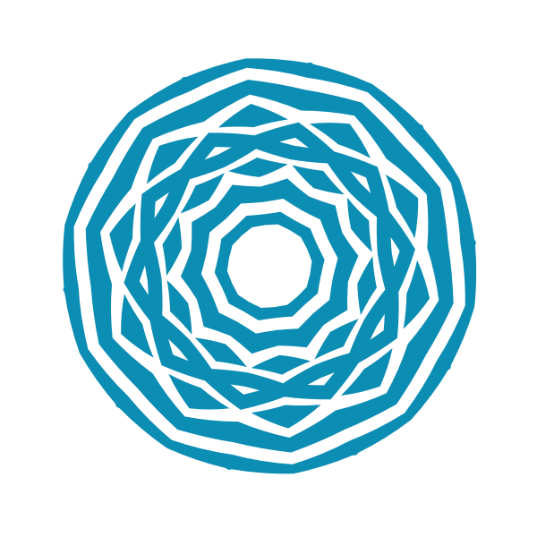 Geometric tribal shape