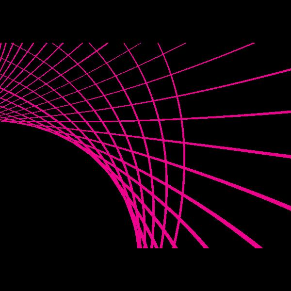 Pink lines swirl