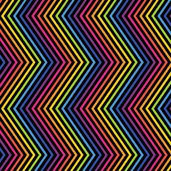 Zigzag pattern vertical lines