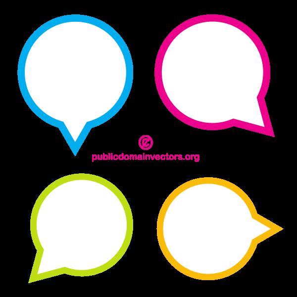 Speech balloons (#3)