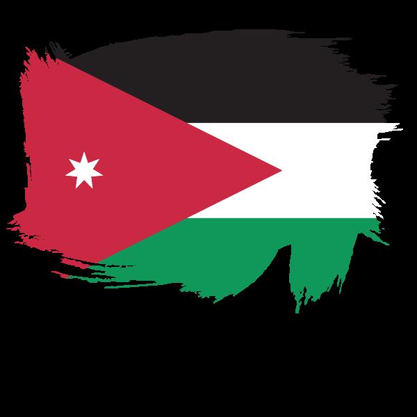 Flag of the Kingdom of Jordan