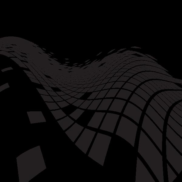 Wavy tiled pattern (#3)