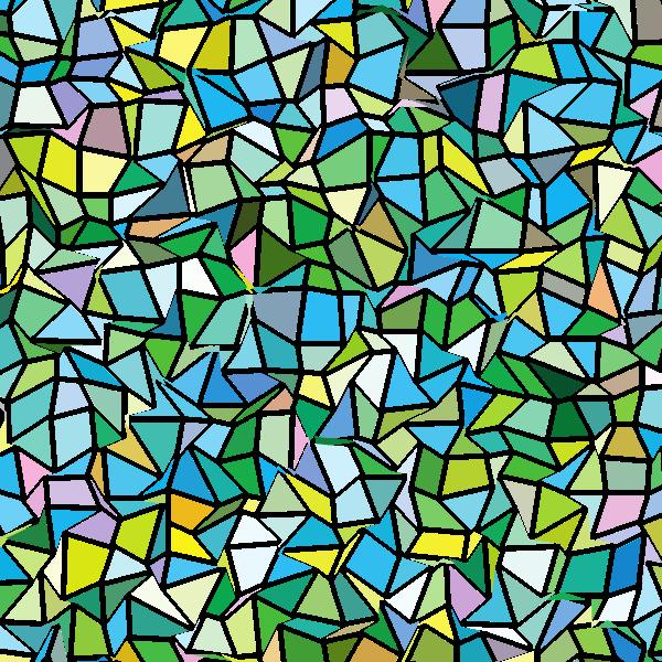 Mosaic tiles pattern (#3)
