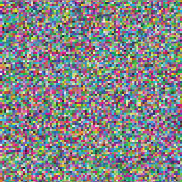 Pixel pattern background