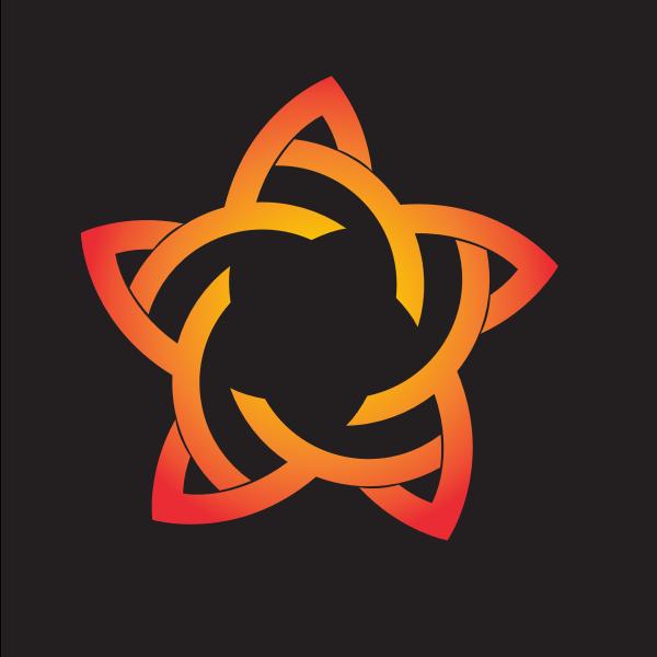 Star tribal design