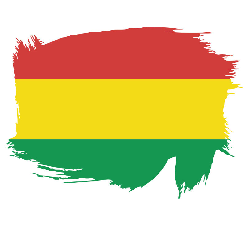 Flag of the State of Bolivia
