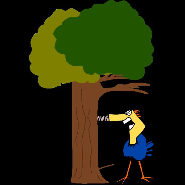 Modern Woodpecker