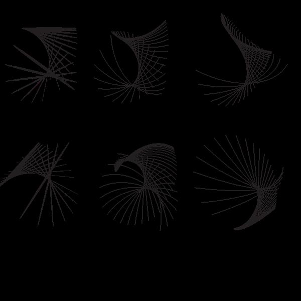 Swirl random lines