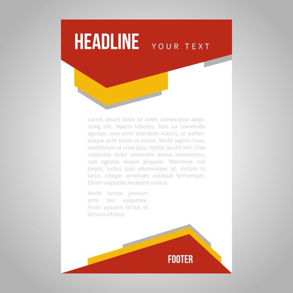 Headline page template