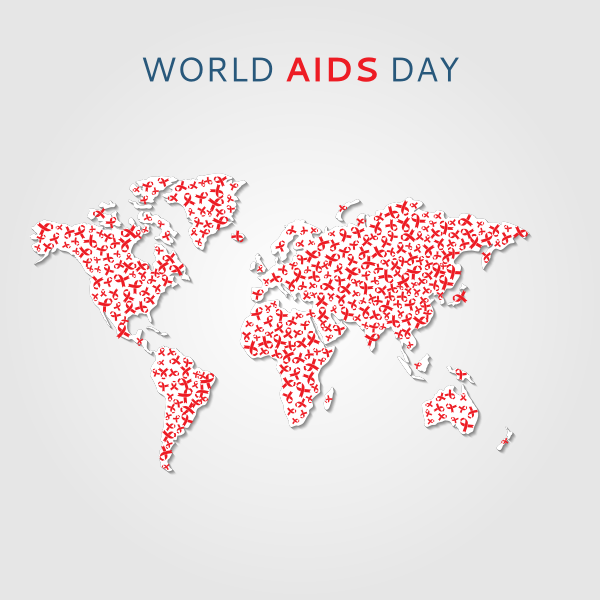 World AIDS day graphics
