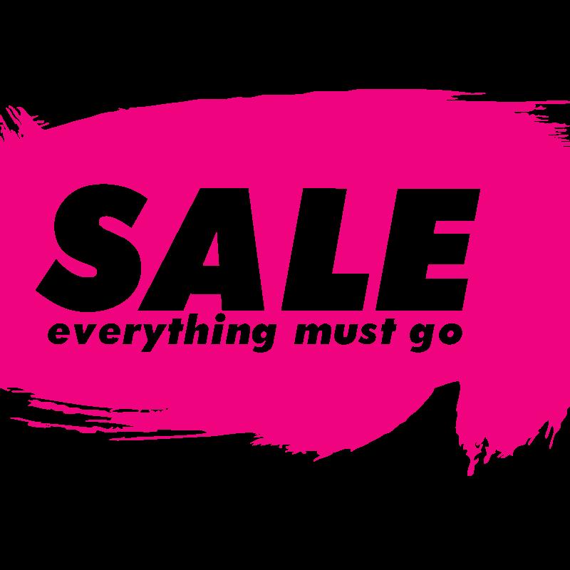 Sale banner for storefront