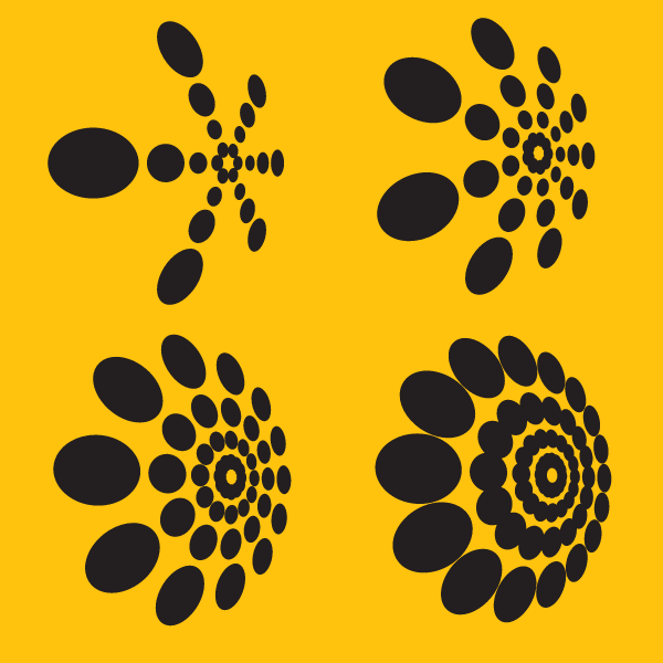 Dotted design elements
