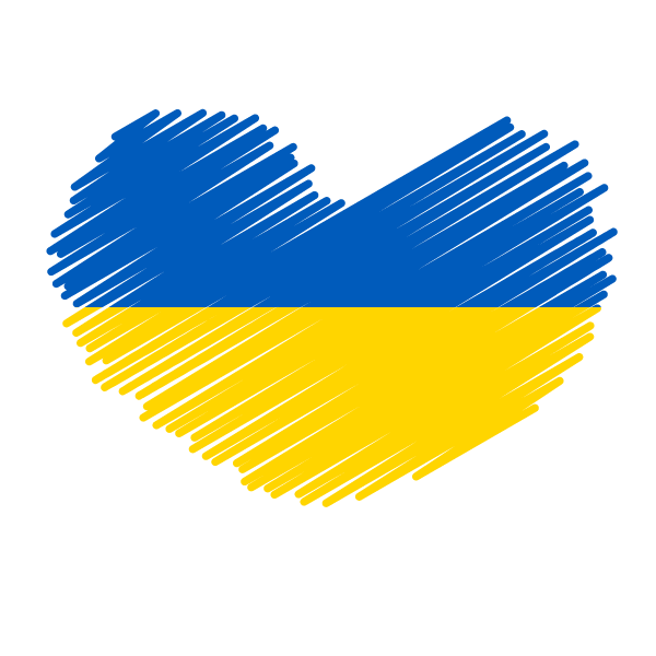 Ukraine flag patriotic symbol