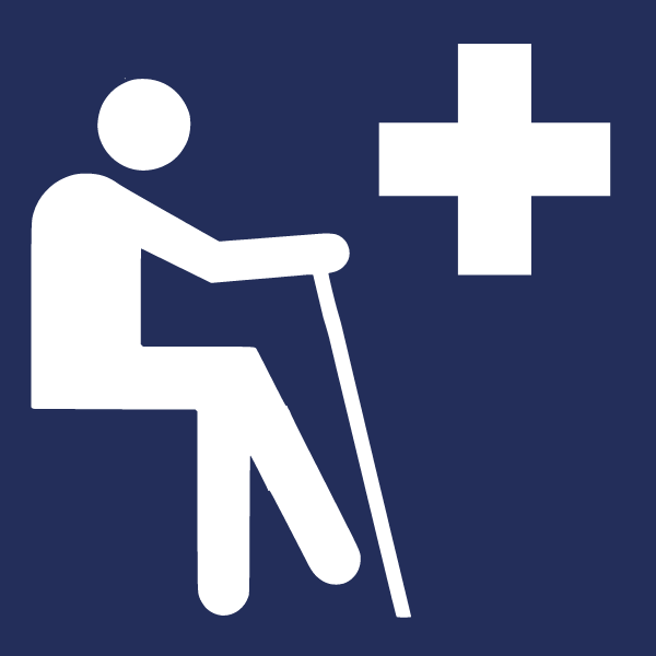 priority seating sign