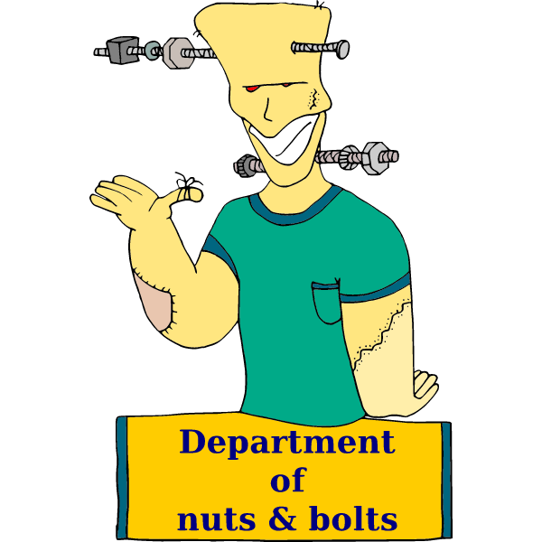 Department of nuts and bolts