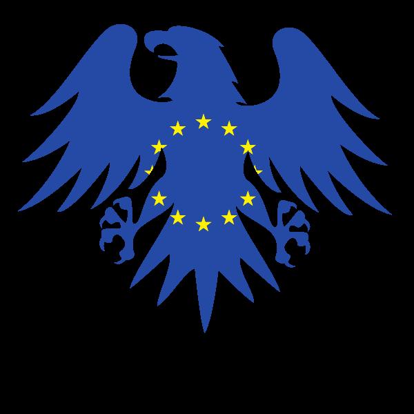 Eu flag eagle heraldic crest