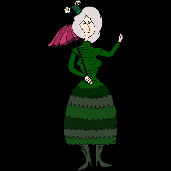 Woman with umbrella-1623736974