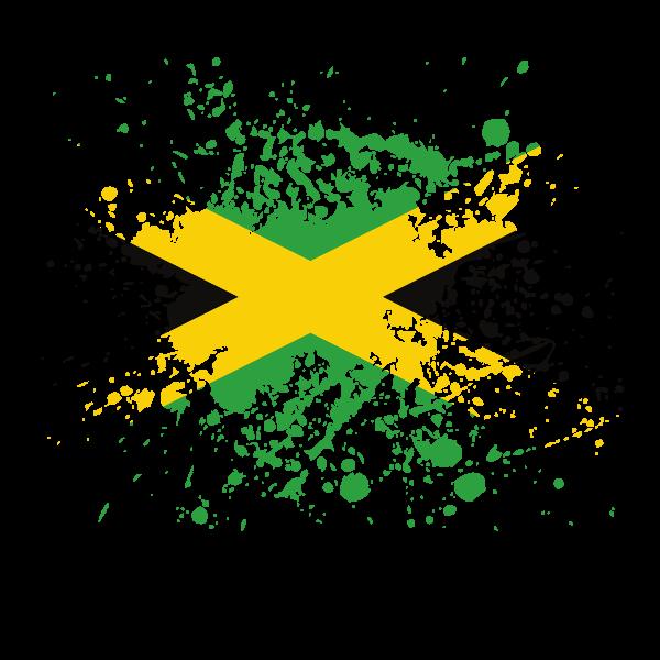 Jamaican flag ink sp.ash