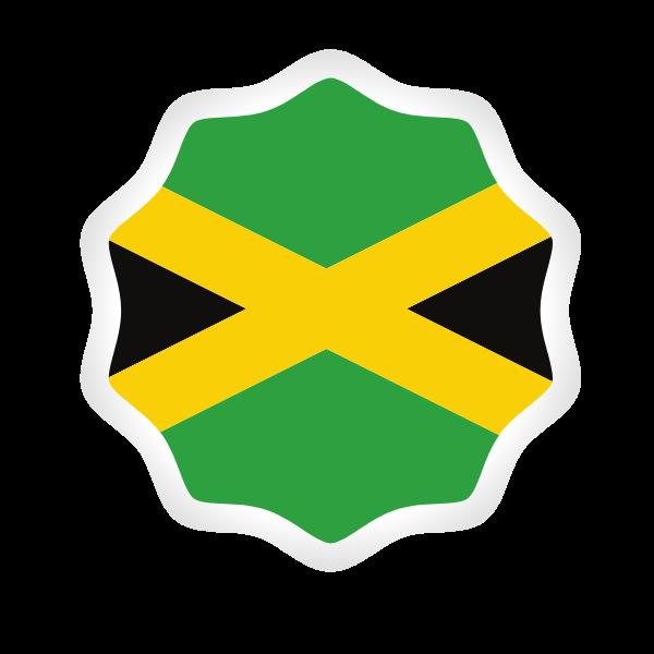 Jamaica flag symbol