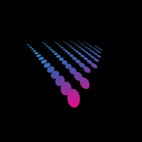 Logo halftone graphics